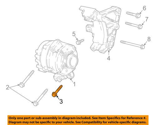 GM OEM A//C AC Condenser//Compressor//Line-Compressor Bolt 11588742
