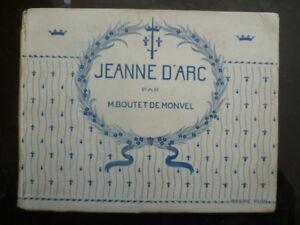 Album-N-amp-B-034-Jeanne-d-039-Arc-034-illustre-par-Louis-Maurice-BOUTET-de-MONVEL-PLON