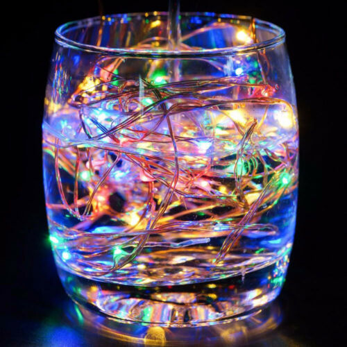 5//10//20M Christmas LED String Fairy Light Copper Wire USB In//Outdoor Party Decor