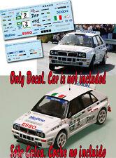 Decal 1:43 Enrico Bertone - LANCIA DELTA - Rally El Corte Ingles 1994