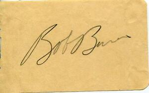 BOB-034-BAZOOKA-034-BURNS-ACTOR-IN-BELLE-OF-THE-YUKON-SIGNED-PAGE-AUTOGRAPH