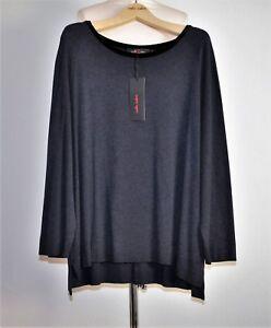 Bleu Cream Sweatshirt Foncé Sallie Shirt Noir Vansa70 Gr Nouveau 52 YHddq6w