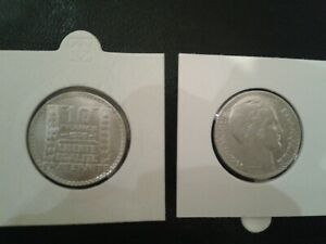 10-francs-TURIN-1939-ARGENT-SUP