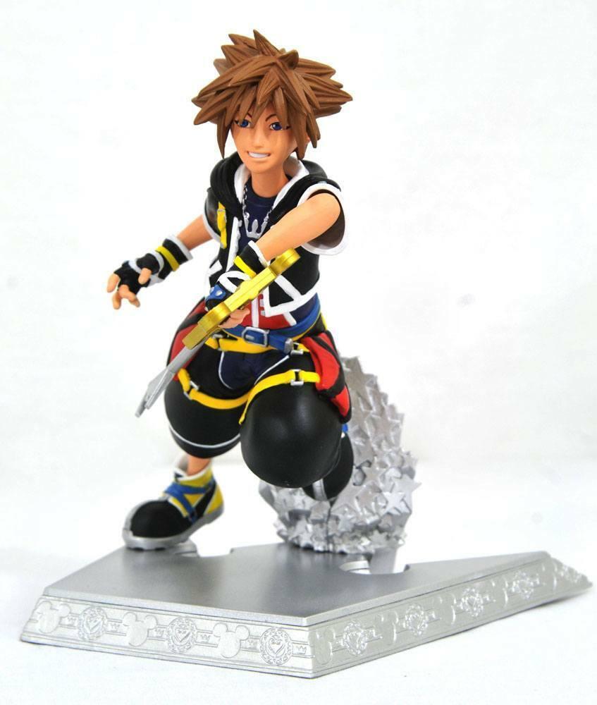 Kingdom Hearts Gallery PVC Statue Sora 18 cm