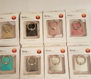 Ring-Square-Finger-Grip-Rotating-Ring-Holder-Stand-all-Mobiles-8-Colours