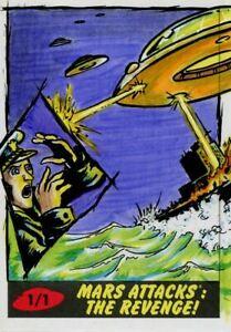 Mars-Attacks-The-Revenge-Sketch-Card-By-K-Gromm