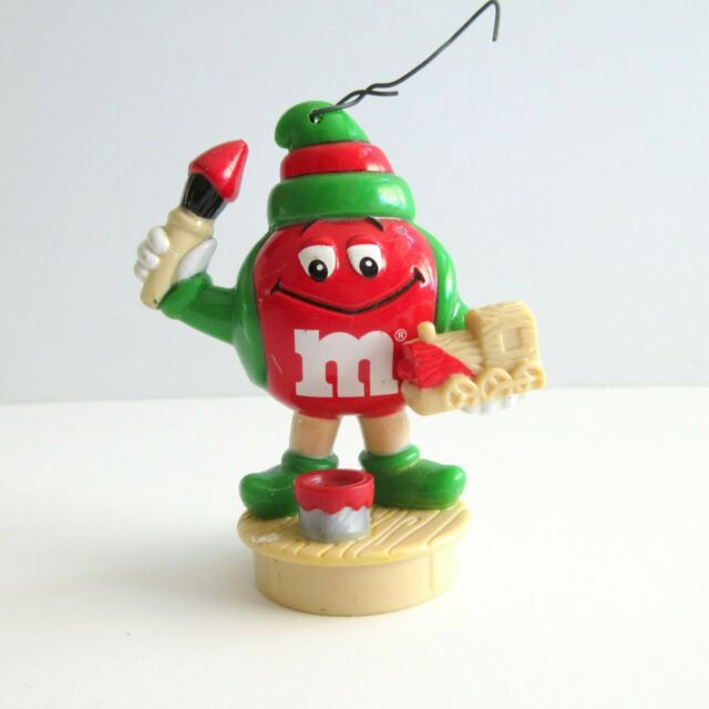 M & M Mars Figure Christmas Ornament