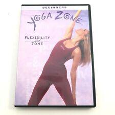 Yoga Zone - Flexibility and Tone (DVD, 2002)