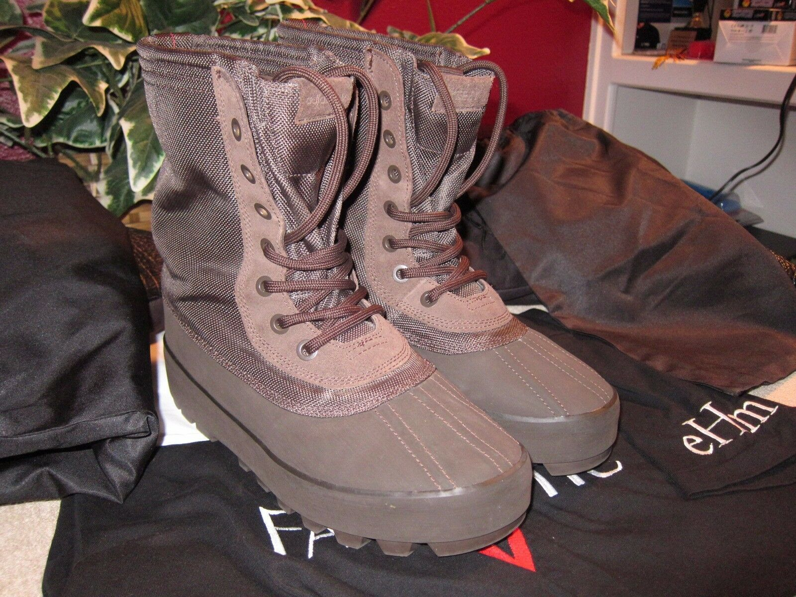 100% Authentic Adidas Yeezy Pirate Black 950 Boot Men Boost 350 Price reduction