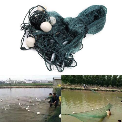 3x20M Polyethylene net Nylon Silk Nets Fishing Net Monofilament Gill Net 2x10M