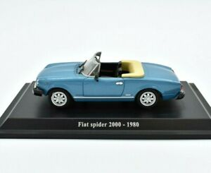 Model-Car-Fiat-Spider-2000-Scale-1-43-diecast-NOREV-modellcar-vehicles