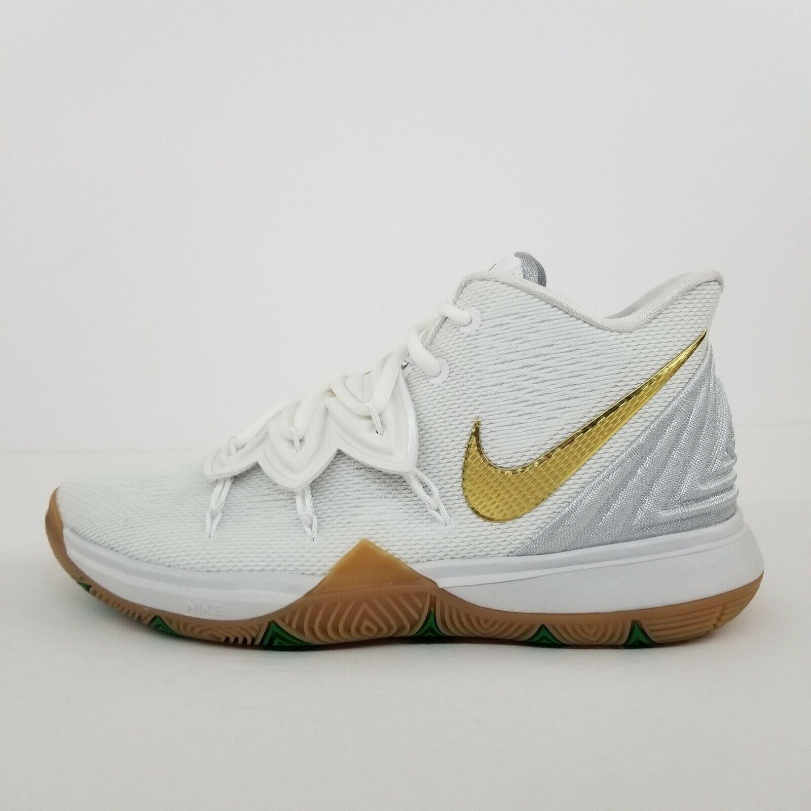Nike Kyrie 5 (GS) Irish White Metallic