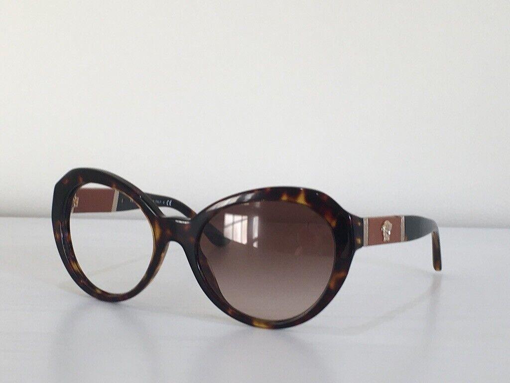 109 Versace MOD 4306-Q 108/13 Cat Eye Havana Red Sunglasses Frame Only 56*19*140