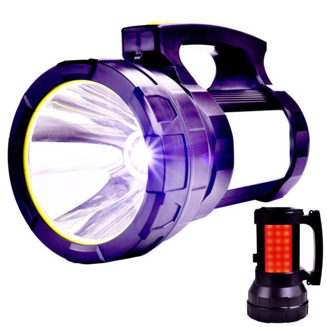 Super Bright Searchlight Handheld Portable Spotlight Rechargeable led flashlight