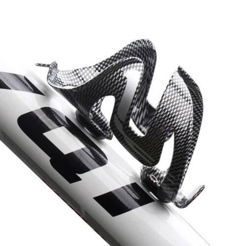 New Carbon Fiber Bicycle Bike Road MTB Bike Drink Water Bottle Cage Holders US
