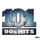101 90s Hits (2008)  5 x CD Set with 101 Nineties Greatest Hits