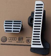 Audi A3 8P original S3 Pedalset S-Line Pedale Pedalkappen RS3 pedal pads caps