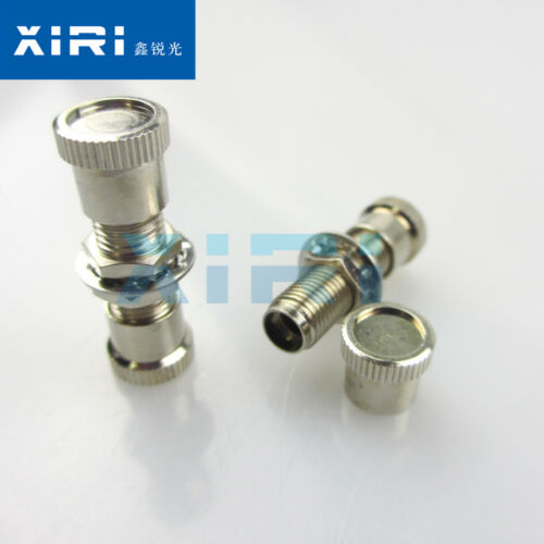 1pcs  SMA905//HPSMA905 Fiber Optic Adapter Coupler Flange Mount Connector