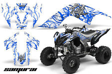 YAMAHA RAPTOR 700 GRAPHICS KIT DECALS STICKERS CREATORX SAMURAI BLW