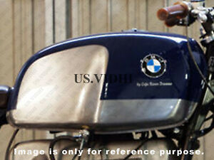 Nuovo BMW R100S R100Cs R100Rs R100Rt Argento Con Blu Petro Carburante Serbatoio