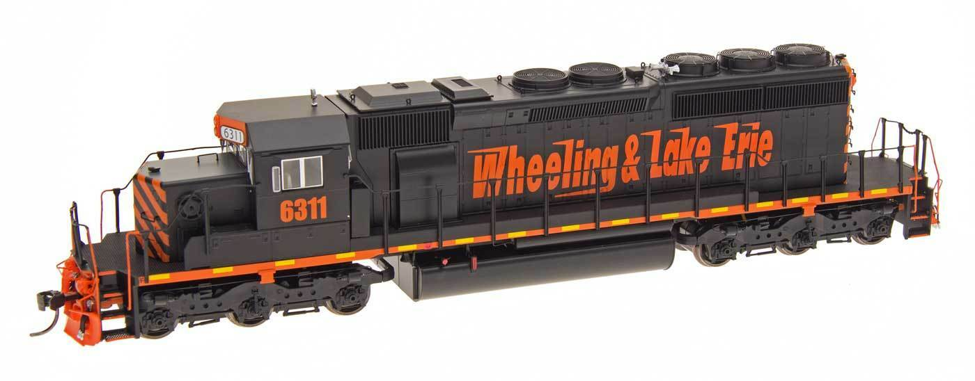 Intermountain Rueda & Lake Erie - 02 SD40-2 con DCC Ho MIB