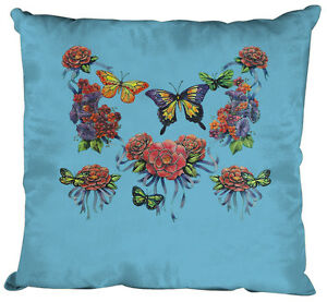 09843-1-Azul-Claro-Cojin-Decorativo-40-x-40-cm-Cojin-Relleno-mariposas
