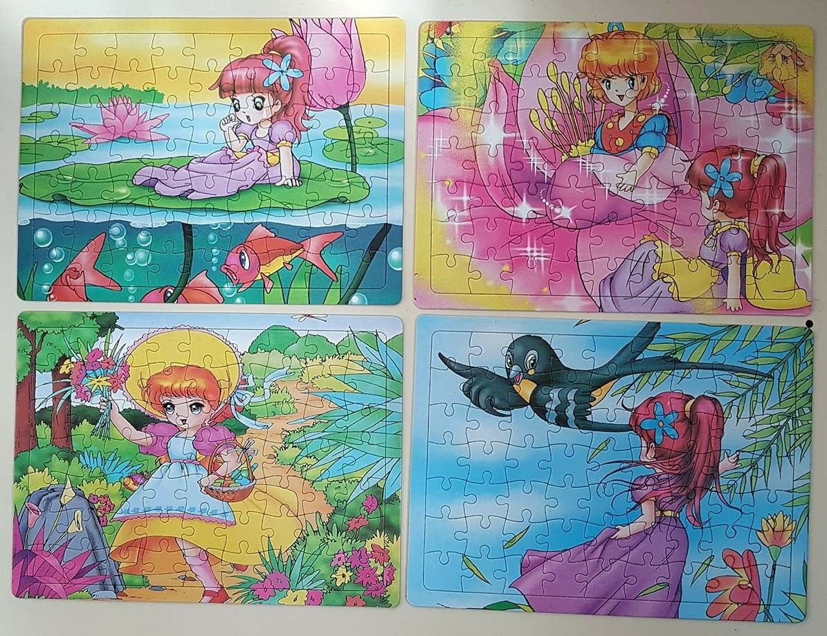 92x  Puzzle per bambini in blister 63 pezzi  Felice shopping