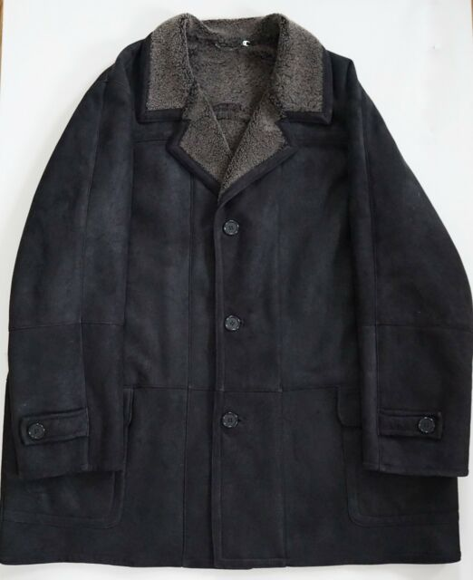 Blue Duck Brown Spanish Merino Micro Shearling Coat Jacket 4xlt Usa
