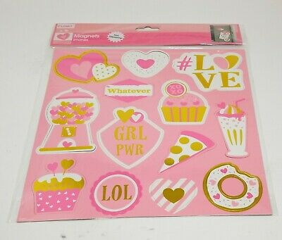 Valentines Day Love Romance Refrigerator Fridge Magnets Kids Funny Cards Red