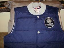 on sale 8b6cb 4fbe8 Mitchell & Ness NFL Dallas Cowboys Play Clock Throwback Vest Jacket Mens Sz  2xl