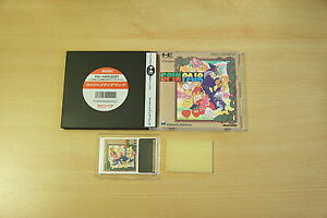 SPIN-PAIR-jeu-pc-engine-Hucard-import-JAP-complet