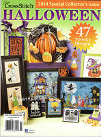halloweencounted Cross Stitch Pattern Magazine2014 Special Issue47 Designs