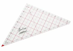 """patchwork squares acrylic craft//sewing templates up to 7.5/"""" Five quilting"""