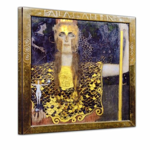 Pallas Athene Kunstdruck Gustav Klimt Alte Meister