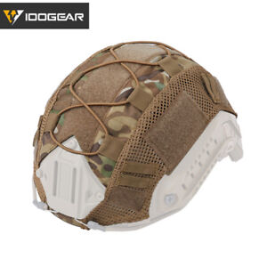 IDOGEAR-Tactical-Helmet-Cover-for-FAST-Helmet-Camo-Hunting-Airsoft-Headwear-Gear