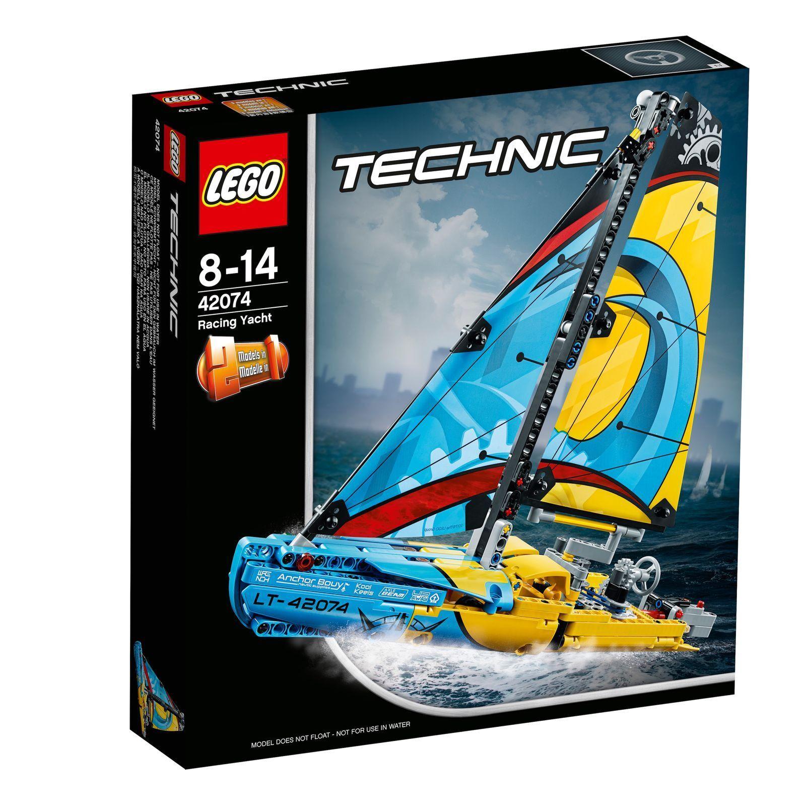 LEGO ® Technic 42074 rennyacht NUOVO OVP _ Racing Yacht NEW MISB NRFB