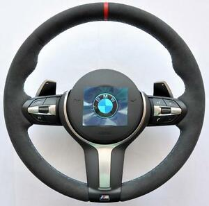 bmw m tech sport performance f30 f31 f34 f20 f21 x5 f15 alcantara steering wheel ebay. Black Bedroom Furniture Sets. Home Design Ideas