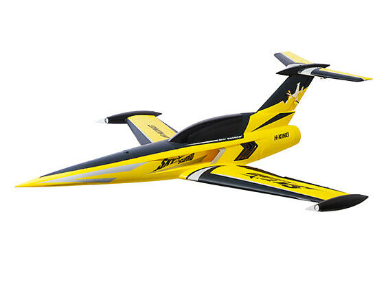 RC H-King SkySword 70mm 6S EDF Jet 990mm (40) amarillo (PNF)
