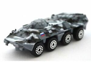 1-72-BTR-80-Russian-Armored-Infantry-Vehicle-Die-Cast-Car-Metal-model-75-mm-Grey