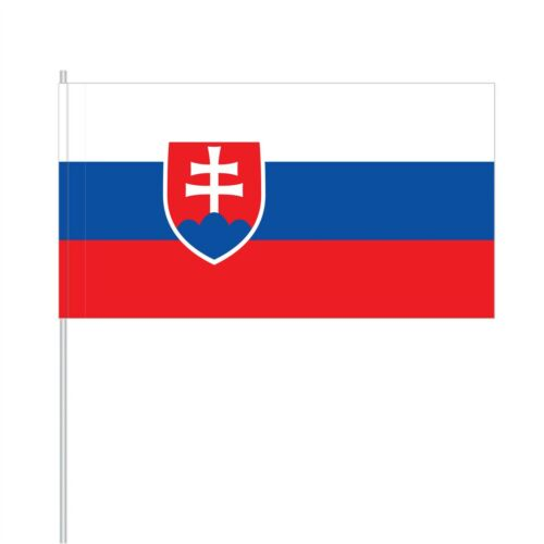 Flaggen 25 Papierfähnchen//Papierfahnen Slowakei PFS-SVK