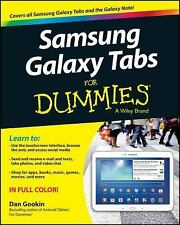 Samsung Galaxy Tabs For Dummies-ExLibrary