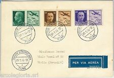 ITALIA  - STORIA POSTALE  -  PROPAGANDA GUERRA : DEUTSCHE DIENSTPOST ADRIA 1944