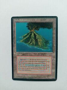 Volcanic Island Dual RESERVED LIST FBB Black Bordered MTG Magic the Gathering