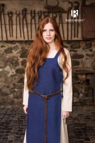 Blau von Burgschneider LARP Mittelalter Schürzenkleid Überkleid Wikinger