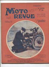 Moto Revue N°457  ;  12 décembre  1931 : technique la compression des moteurs