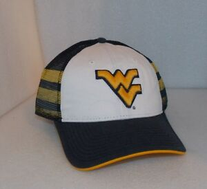sports shoes 53e3f c7d01 Image is loading New-WEST-VIRGINIA-MOUNTAINEERS-NCAA-The-Game-Cap-