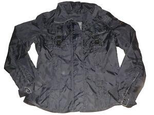 IX-O-tolle-Wind-und-Wetter-Jacke-Gr-M-38-40-schwarz