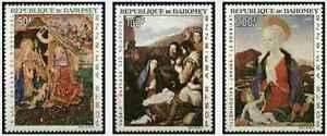 Timbres-Arts-Tableaux-Dahomey-PA50-2-lot-18834-cote-22
