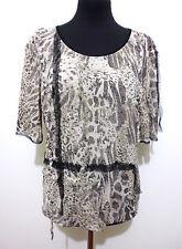 KRIZIA ANIMAL VINTAGE '80 Maglietta Donna Jersey Woman T-Shirt Sz.L - 46