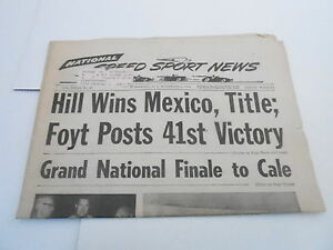 NOV-6-1968-NATIONAL-SPEED-amp-SPORTS-NEWS-car-racing-newspaper-HILL-WINS-MEXICO